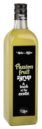 Сироп Маракуйя (стекло, 1л.) Miller&Miller Passion Fruit в ШефСтор (chefstore.ru)